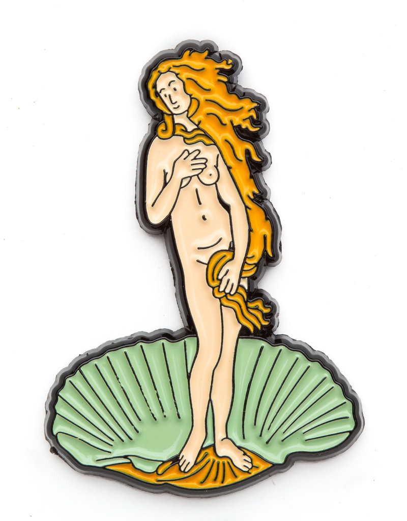 Today is Art Day Art History Enamel Pin Birth of Venus