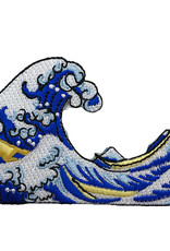 Today is Art Day Art History Iron On Patch Great Wave