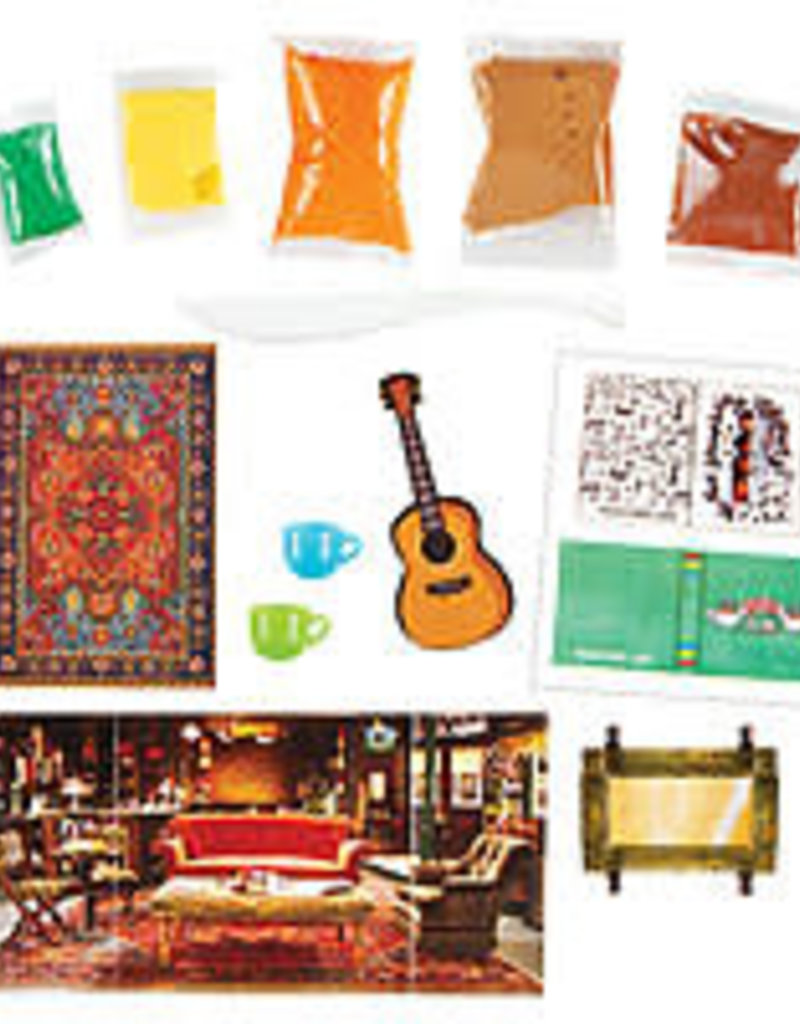 Fashion Angels Friends Mini Central Perk Air Dry Clay Kit