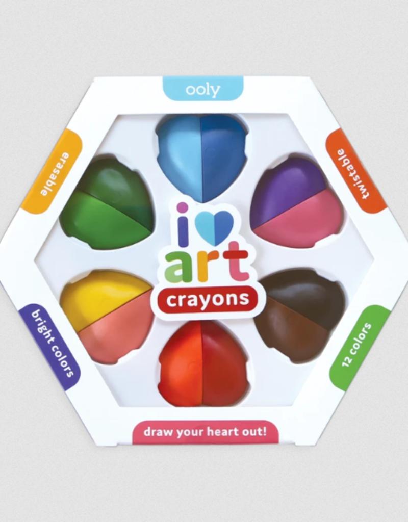Ooly I Heart Art Crayons