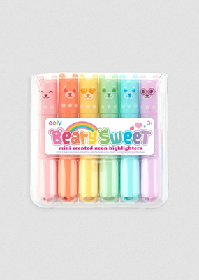 Ooly Mini Scented Highlighters Beary Sweet