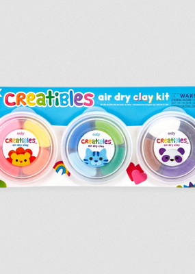 Ooly Creatibles Air Dry Clay Kits