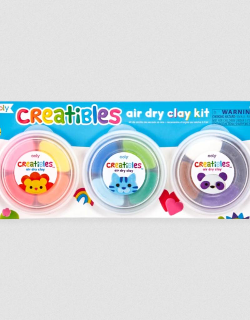 Ooly Creatibles Air Dry Clay Kits