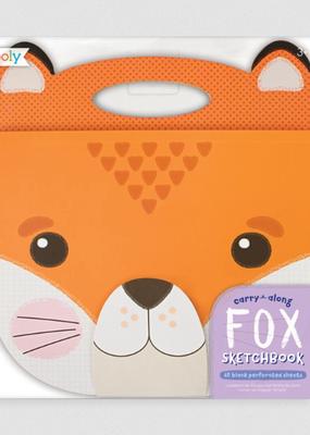 Ooly Carry Along Sketchbook Fox