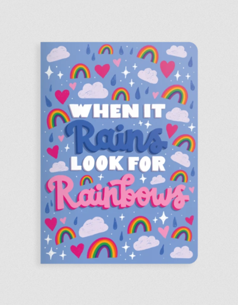 Ooly Jot It Notebook Look For Rainbows