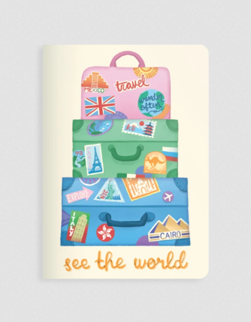 Ooly Jot It Notebook See The World