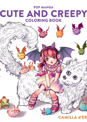 Coloring Book Pop Manga Cute And Creepy
