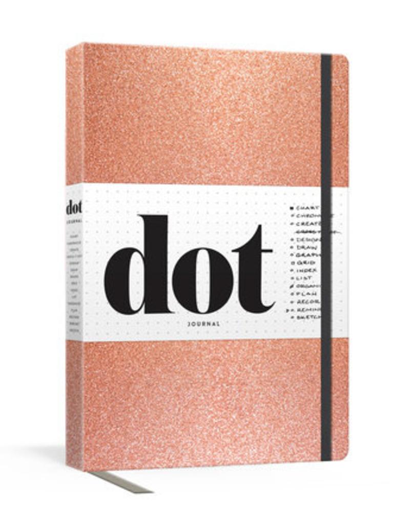 Dot Journal Rose Gold