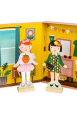Petit Collage Best Friends Magnetic Dress Up Play Set