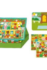 Petit Collage Treehouse Party Magnetic Play Set
