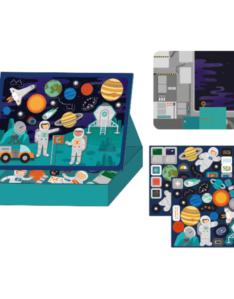Petit Collage Outer Space  Magnetic Play Set