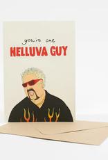 FINEASSLINES Card Helluva Guy