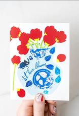 Ilootpaperie Card Let Love Bloom Love