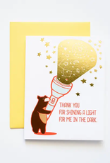 Ilootpaperie Card Thank You For Shining A Light