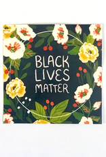 Wild Optimist Sticker Black Lives Matter Circle