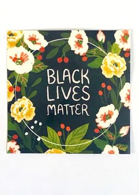 Christa Pierce Sticker Black Lives Matter Circle