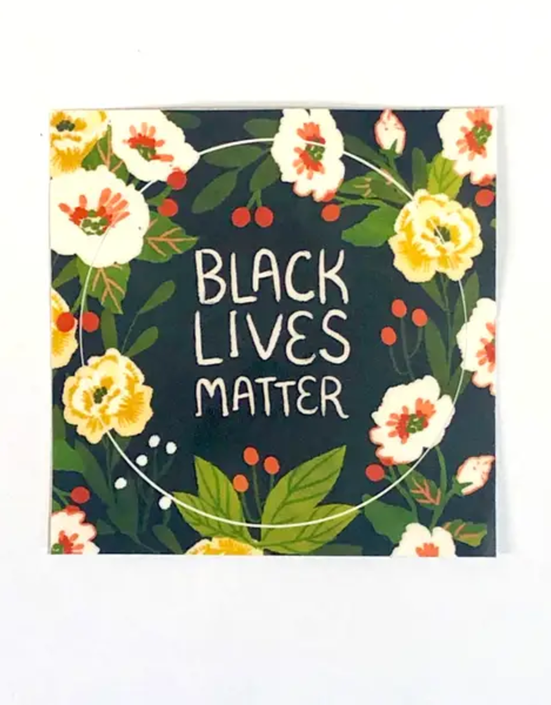 Christa Pierce Sticker Black Lives Matter Circle