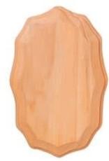 Darice Wood Plaque 3.5 x 5.5 Inch