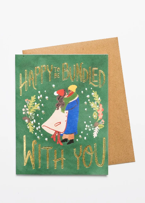 Christa Pierce Card Happy To Be Bundled With You
