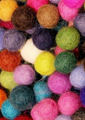 Barefoot Fibers Wool Felt Balls