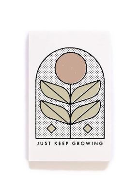 Denik Flat Lay Notebook Just Keep Growing