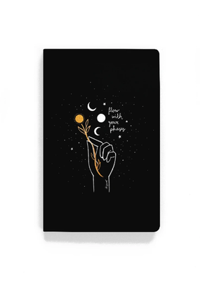 Denik Flat Lay Notebook Flow With Your Phases
