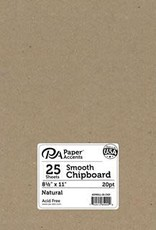 Paper Accents Chipboard 8.5 x 11 Light Weight 20 Point