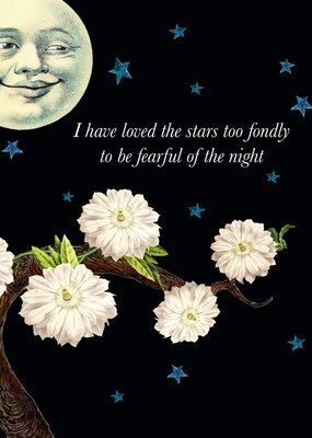P Flynn Design Card I Have Loved The Stars