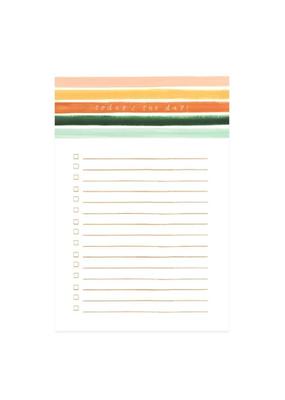 1 Canoe 2 Notepad Sienna Stripe