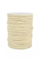 Touch of Nature 3 Ply Natural Cotton Cording 3mm 100M