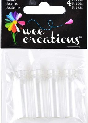Touch of Nature Wishing Bottles 1.5 Inch Set of 4