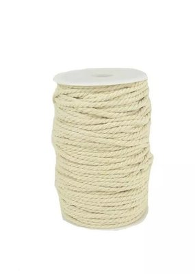 Touch of Nature 4 Ply Natural Cotton Cording 4mm 100M