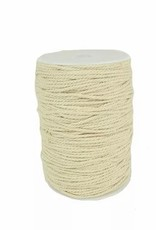 Touch of Nature 3 Ply Natural Cotton Cording 3mm 200M
