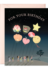 joo joo paper Card Lanterns Birthday