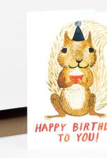 Little Truths Studio Card Happy Birthday Squirrel