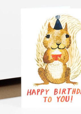 Little Truths Studio Card Happy Birthday Squirrel