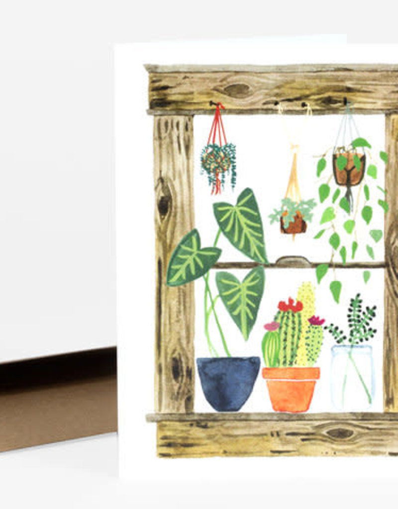 Little Truths Studio Card Plants Window