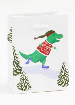 Waste Not Extreme Winter Dinos Small Gift Bag