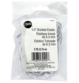 Dritz 1/4 Inch  Elastic Braided