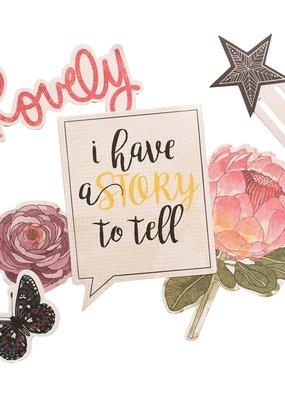 Vicki Boutin Storyteller Embellishment Ephemera