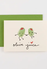 Ilootpaperie Card Olive Juice