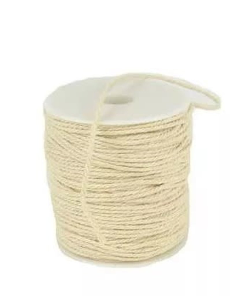 Touch of Nature 2 Ply Natural Cotton Cording 2mm 100M