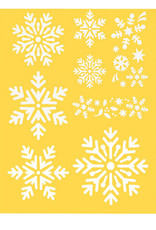 Darice Assorted Snowflakes Stencil 8.5 x 11 Inch