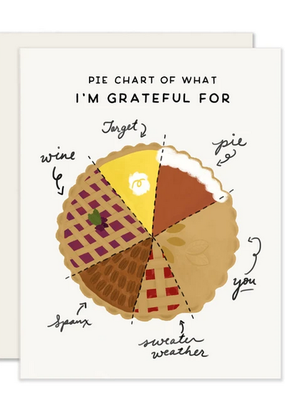 Slightly Stationery Card Pie Chart