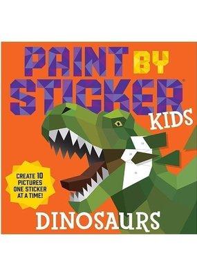 Workman Paint By Sticker Kids Dinosaurs