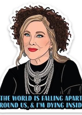 The Found Sticker Moira Quote