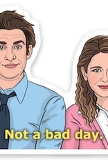 The Found Sticker Jim and Pam
