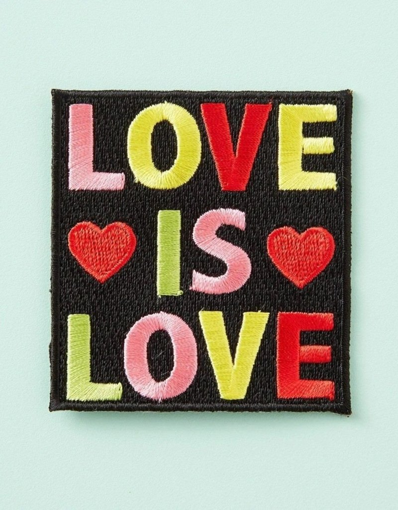 Punky Pins Iron On Patch Love Is Love