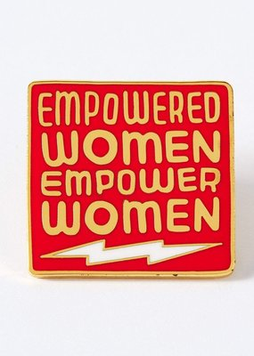 Punky Pins Enamel Pin Empowered Women