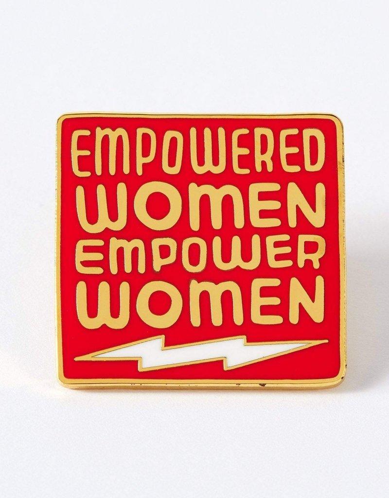 Punky Pins Enamel Pin Empowered Women
